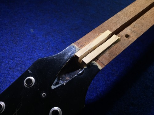 メイプル材の接着