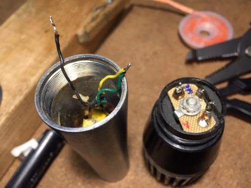 マイクの修理