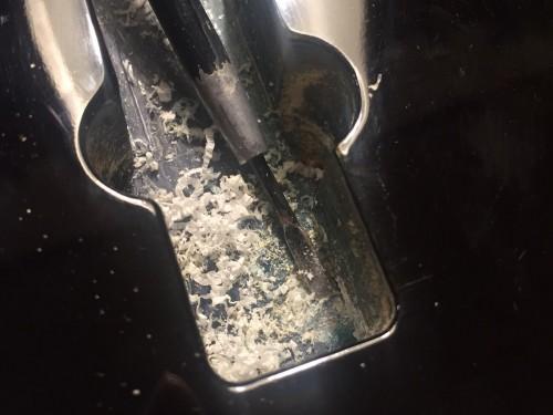 導電塗料塗布前の下処理