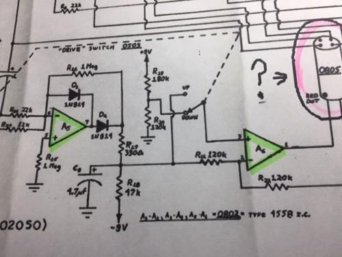 エンベロープ信号制御系