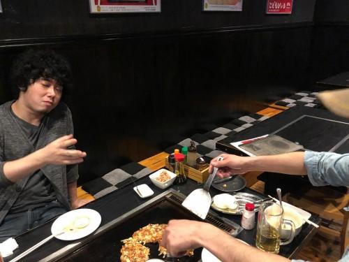 お好み焼き屋さん(Takacoさんから写真を頂きました)
