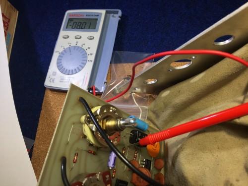 LED部分の計測