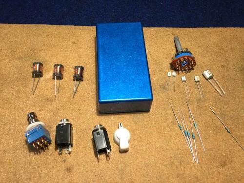 バリトーンスイッチボックスの部品
