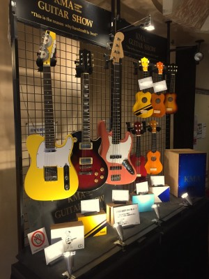 ギタークラフト科の生徒さんの作品