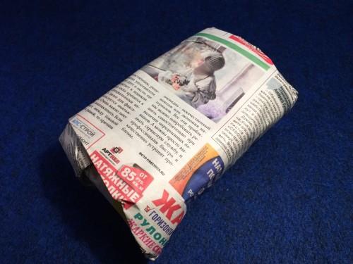 ロシアの新聞紙