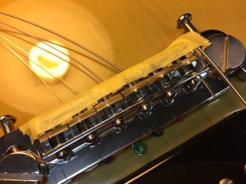 弦溝を削る