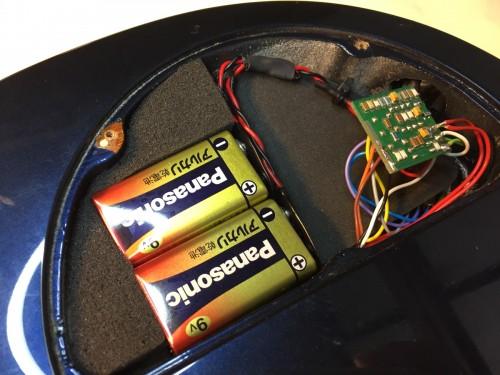 新品の電池で音出し