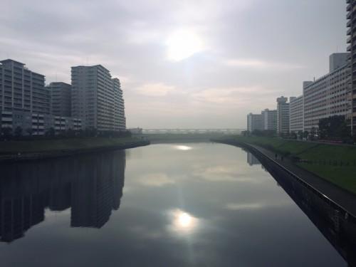 早朝のサイクリング