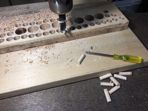 木栓を作る