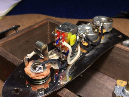 ターボ回路(シリーズ&パラレル)スイッチの追加